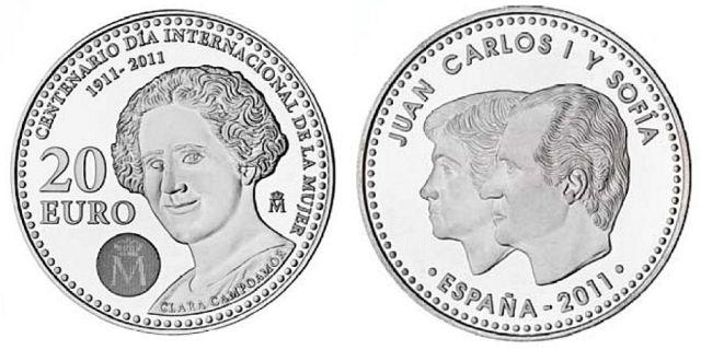 España 20 euros dedicados a Clara Campoamor Ft20